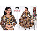 3/4th Sleeve Anarkali Kurti