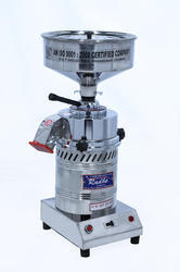 Table Top Domestic Stainless Steel Round Model Flour Mill