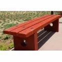 Precast Concrete Garden Bench