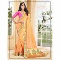 Silk Indian Jacquard Saree, 5.5 M (separate Blouse Piece)