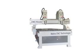 Double Spindle CNC Carving Machine