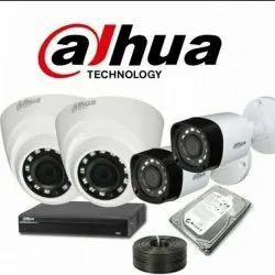 1.2 Day & Night Vision Dahua CCTV Camera, CMOS, Model Name/Number: 1mp