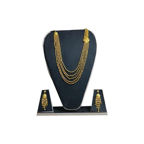 Maitri Golden Imitation Gold Plated Necklace Set
