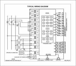 Self Adhesive Wiring Diagram For Control Panel