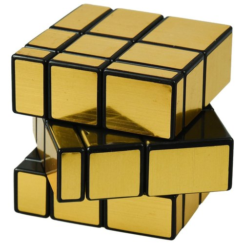 Gold Mirror Cube For Playing Rs 55 Piece Jsr Cart Id 21722543055