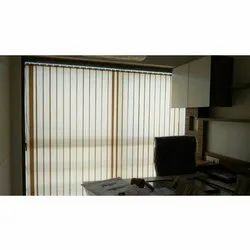 White Window Vertical Blinds