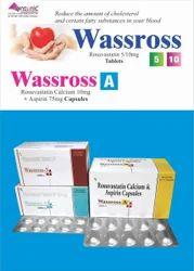 Rosuvastatin Calcium 10mg   Aspirin 75mg Capsules