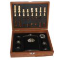 Hip Flask Chess Set