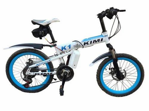 GOGOA1 KIMI Mountain Electric Bicycle with Folding High Carbon Steel ...