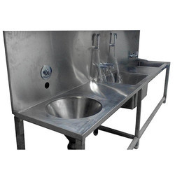 SS Dirty Utility Hospital Sink