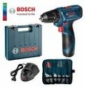 10 Mm 12 V Bosch Gsb 120 Li Ace Kit, Warranty: 1 Year, 1500 Rpm