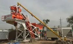 Modular Batching Plant with Twin Shaft Mixer