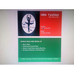 Paper Visiting Card, Packaging Type: Box