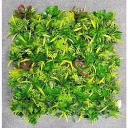 Uv Coated Artificial Plastic Vertical Wall Covering Grass Mat, For Decoration