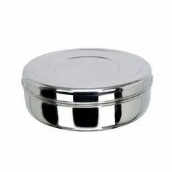 Round Stainless Steel Food Box