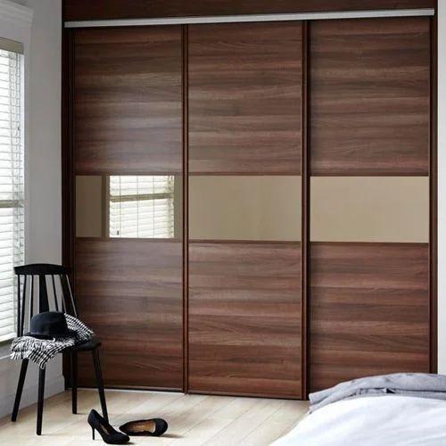 Wooden Bedroom Sliding Wardrobe