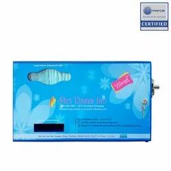 Coin Acceptable Manual Sanitary Napkin Dispenser