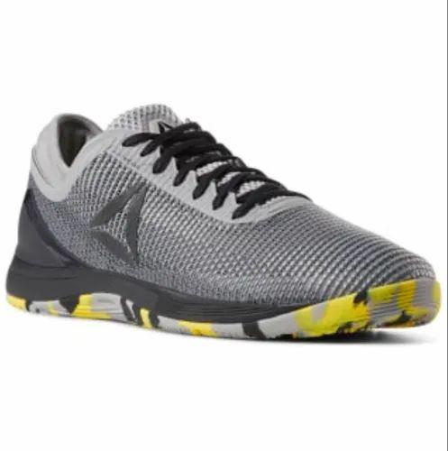 2019 Neupreis Volumen groß preisreduziert Reebok Men Grey Cross Fit Nano 8 Flexweave Sports Shoes ...