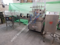 Milk Bottle Filling Machine