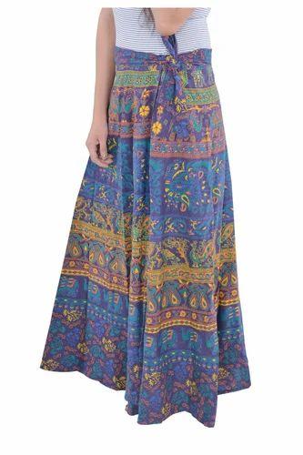 86cead8eac Women Cotton Indian Multi Round Mandala Rapron Skirts, Rs 220 /piece ...