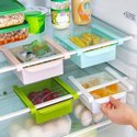Fridge Space Saver Organizer Slide Storage Rack Shelf Drawer
