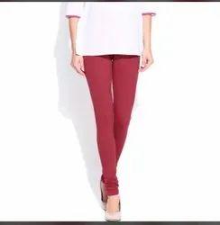 Churidar Plain Leggings For Woman