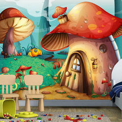 Designer Kids Room Wallpaper