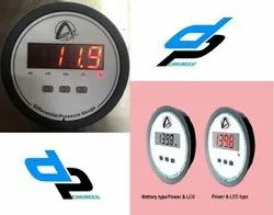 Aerosense Digital Differential Pressure Gauges Model CDPG -QL-LCD Range 0-6 MM WC