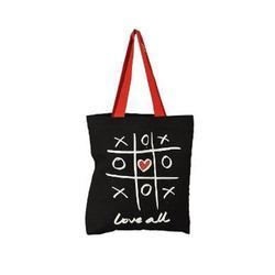 Printed Black Eco Friendly Cotton Carry Bag -Style No.- 1000 fde5fc8951035