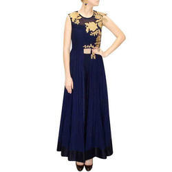 Ladies Party Wear Ethnic Kurti, Size: M, L & XL