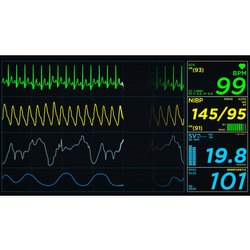 Electricity Digital Medical Monitor, Screen Size: 15 Inch, For Hospital And Clinic
