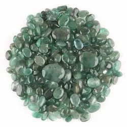 Natural Emerald in Brilliant Cut Gemstones in Assortment for Jewelry Making