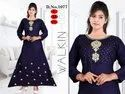 Ladies Designer Blue Kurti