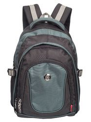 Black & Blue Apollo 15.6 inch Casual Laptop Backpack Bag
