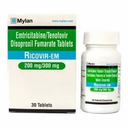 Emtricitabine and Tenofovir Disoproxil Fumarate Tablet
