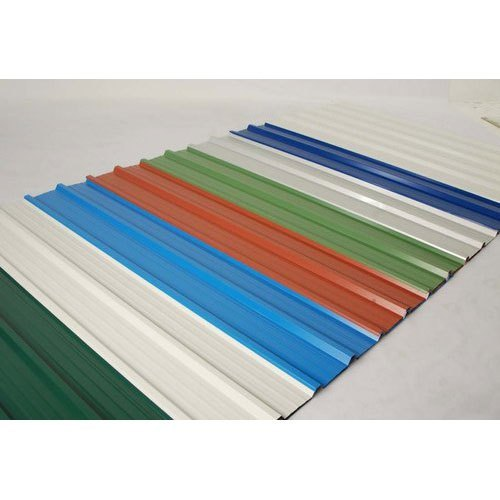 Colour Coated Sheet Color Coated Roofing Sheet Wholesale Trader From Ghaziabad