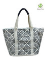 Cotton Canvas Bag With One Colored Print