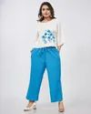 Cotton Flex Plain Short Top With Pant Kurti