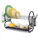 Stainless Steel Dish Drainer with Plastic Tray K159