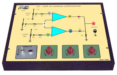 Op Amp As Window Comparator Trainer