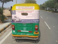 Auto Branding Delhi, Mode Of Advertising: Offline