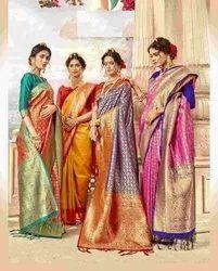 Designer Festive Wear Weaving Sarees