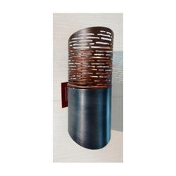 Cylinder Shape Wall T-Lite Holder