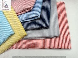 Stripe Hand Block Printed Fabric