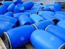 Blue Industrial Plastic Drum