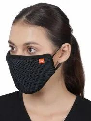 Black Reusable Wildcraft Supermask W95, Certification: Sitra Certified, Number of Layers: 6 - Layer