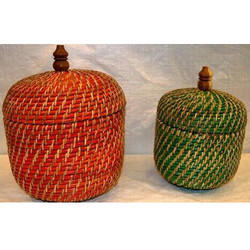 Bamboo Antique Basket
