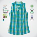 Eco Cotton Ladies Sleeveless Tops