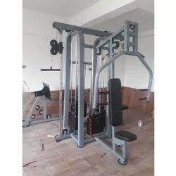 Multifunction Fitness Equipment, Number Of Stations: 4 Stations