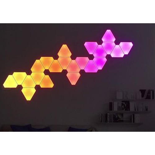 Captivating LED And Fluorescent Nanoleaf Aurora LED Lights Design Ideas